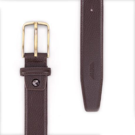 Promo G1319 M Belt Brown Back