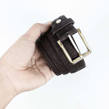 Promo G1359 Brass Belt Brown Functionality