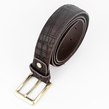 Promo G1359 Brass Belt Brown Main