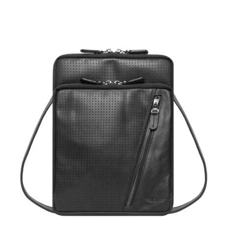Promo Laser Sling Bag Black Front