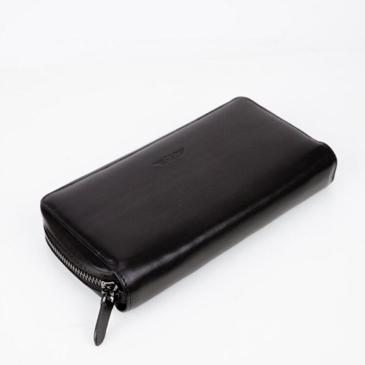 Promo Mitg Long Zipper Wallet Black Front