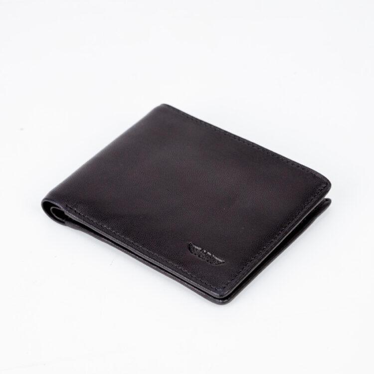 Promo S-Soft Wallet Black Front