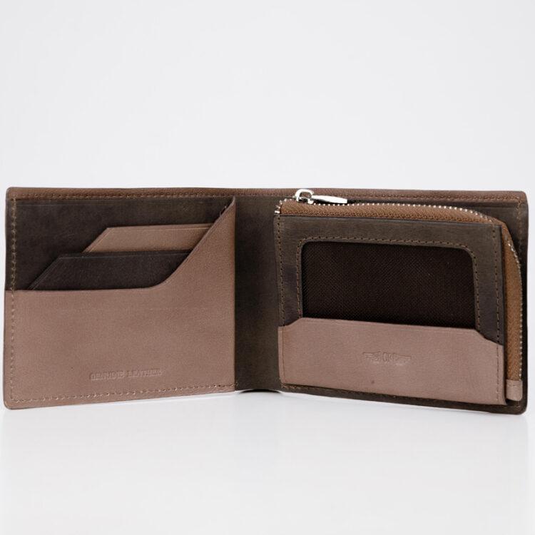 Promo S Soft Wallet Brown Inside