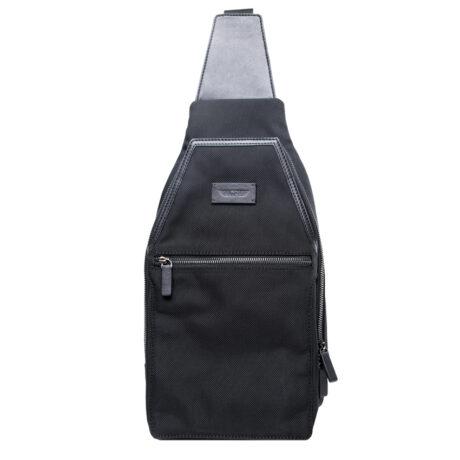 Promo Vega Crossbody Bag Black Front