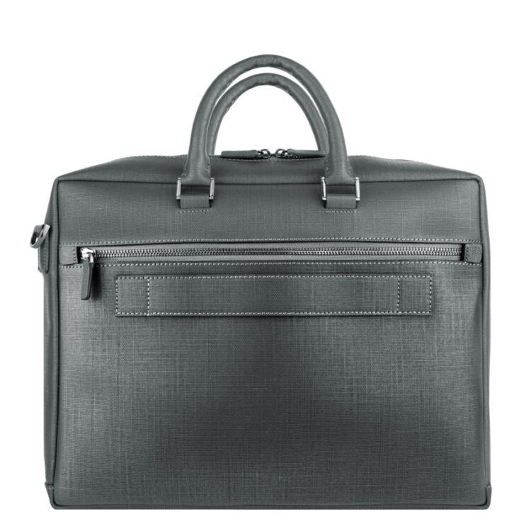 Promo Virginir Briefcase Grey Back